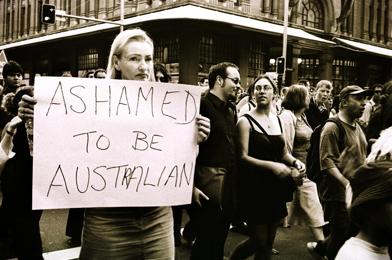Ashamed to beAustralian