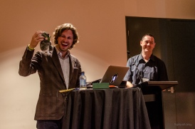 Matt speaking in Sydney